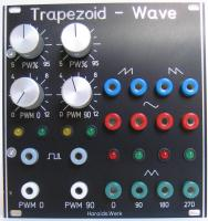 Trapezoid quadrature Waveshaper